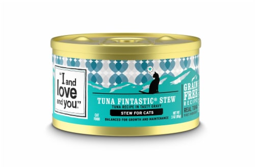 I and Love and You Tuna Fintastic Stew Wet Cat Food Perspective: front