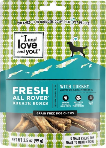 I and Love and You  Fresh All Rover Breath Bones   Turkey Perspective: front
