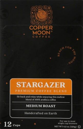 Copper Moon Stargazer Medium Roast Single Serve Coffee Cups Perspective: front