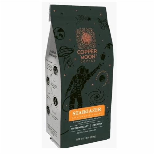 Copper Moon Stargazer Premium Blend Medium Roast Ground Coffee Perspective: front