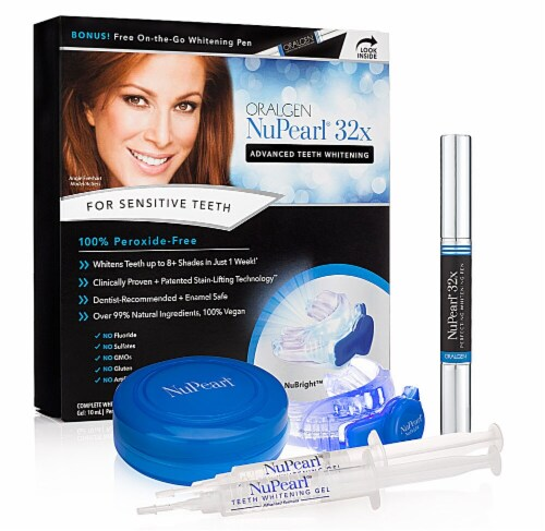 Oralgen NuPearl 32x Advanced Teeth Whitening Kit Perspective: front
