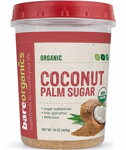 BareOrganics Coconut Palm Sugar Perspective: front