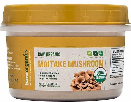 BareOrganics  Mushroom Powder - Maitake Perspective: front