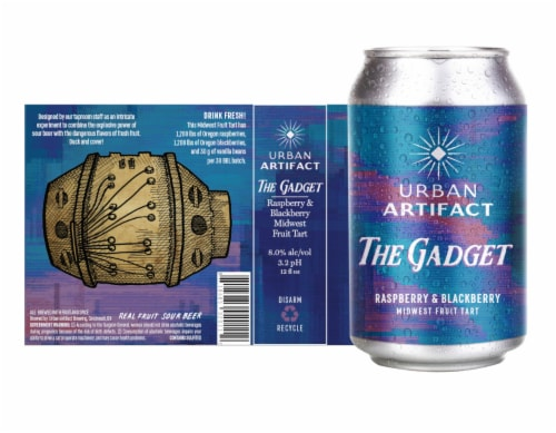 Urban Artifact The Gadget Midwest Fruit Tart Beer Perspective: front
