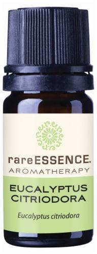 Rare Essence Organic Eucalyptus Citriodora Aromatherapy Essential Oil Perspective: front