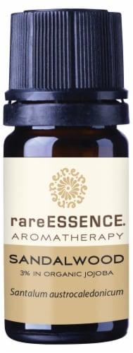 Rare Essence Sandalwood Jojoba Essential Oil Perspective: front