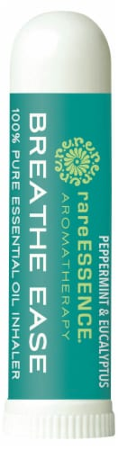 Rare Essence Breathe Ease Aromatherapy Pure Essential Oil Inhaler Perspective: front