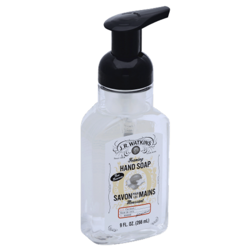 J.R. Watkins Coconut Foaming Hand Soap Perspective: front