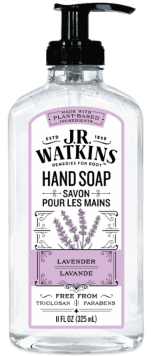 J.R. Watkins Liquid Lavender Hand Soap Perspective: front