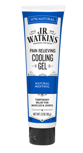 J.R. Watkins Pain Relieving Cooling Gel Perspective: front