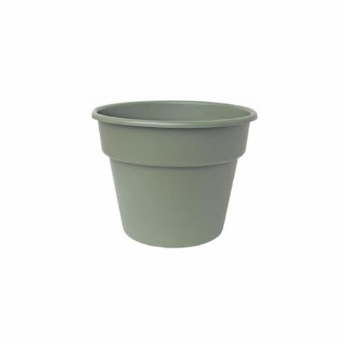 Bloem 6in Dura Cotta Planter Living Green DC6-42 Perspective: front