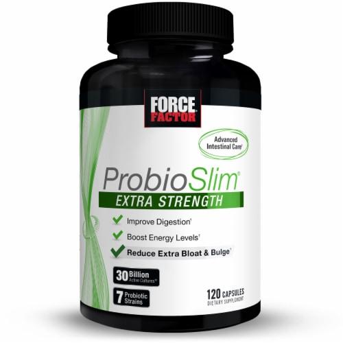Force Factor ProbioSlim Extra Strength Probiotic Perspective: front