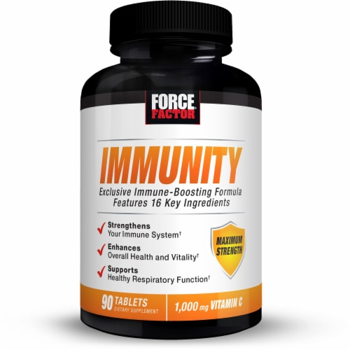 Force Factor Immunity Supplements Perspective: front