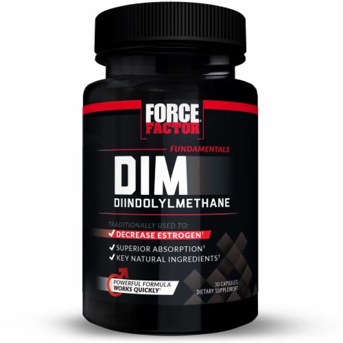 Force Factor DIM Supplements Perspective: front