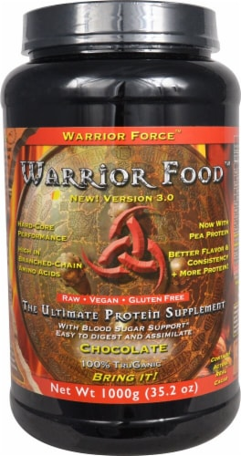 Warrior Force  Warrior Food™   Chocolate Perspective: front