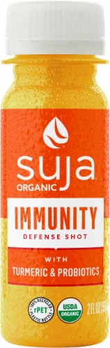 Suja Organic Immunity Defense Shot Perspective: front