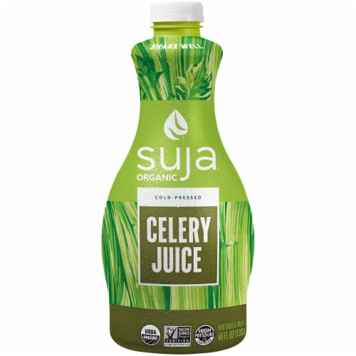 Suja Organic Celery Juice Drink Perspective: front