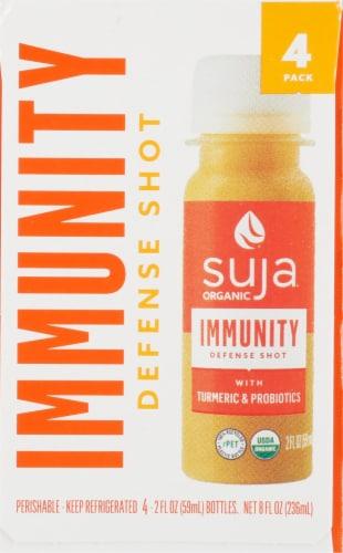 Suja Organic Immunity Defense Shots Perspective: front