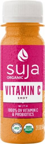 Suja Organic Vitamin C & Probiotics Juice Shot Perspective: front