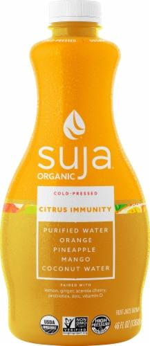 Suja Organic Citrus Immunity Cold-Pressed Juice Perspective: front