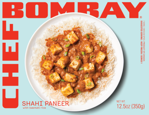 Chef Bombay Shahi Paneer with Basmati Rice Perspective: front