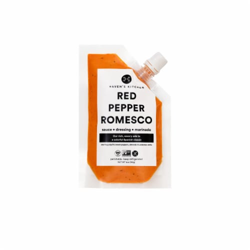 Haven's Kitchen Red Pepper Romesco Sauce Perspective: front