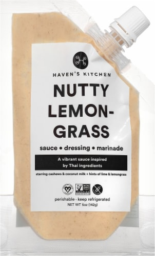 Haven's Kitchen Nutty Lemongrass Sauce Perspective: front