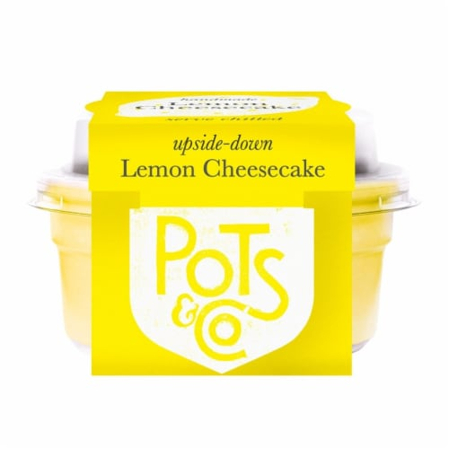 Pots & Co Upside Down Lemon Cheesecake Perspective: front