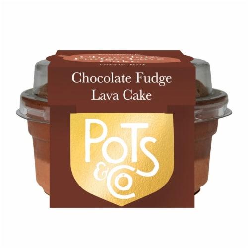 Pots & Co Chocolate Fudge Lava Cake Perspective: front