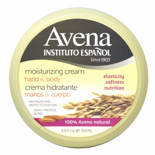 Avena Hand & Body Moisturizing Cream Perspective: front