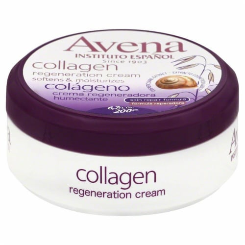 Avena Collagen Regeneration Cream Perspective: front