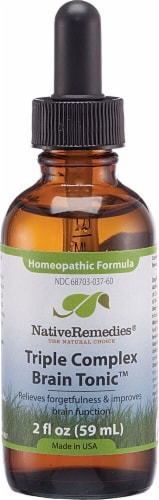 Native Remedies  Triple Complex BrainTonic™ Homeopathic Formula Perspective: front