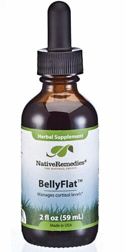 Native Remedies BellyFlat Herbal Supplement Perspective: front