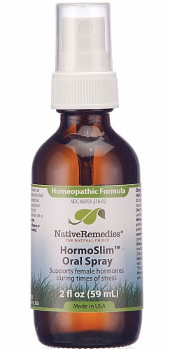 Native Remedies  HormoSlim™  Oral Spray Perspective: front
