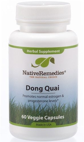 Native Remedies  Dong Quai Perspective: front