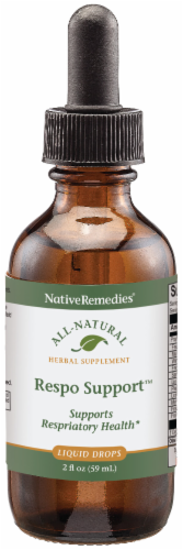 Native Remedies Respo Support Herbal Supplement Perspective: front