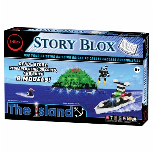 E-Blox The Island Story Blox Perspective: front