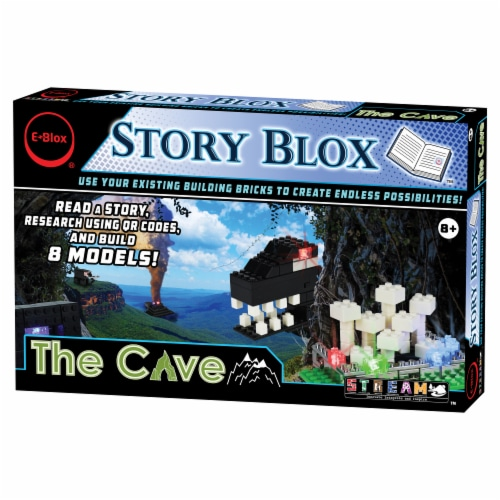 E-Blox Story Blox The Cave Building Set Perspective: front