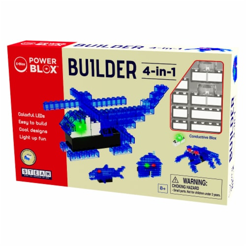 E-Blox LED Building Blocks Perspective: front