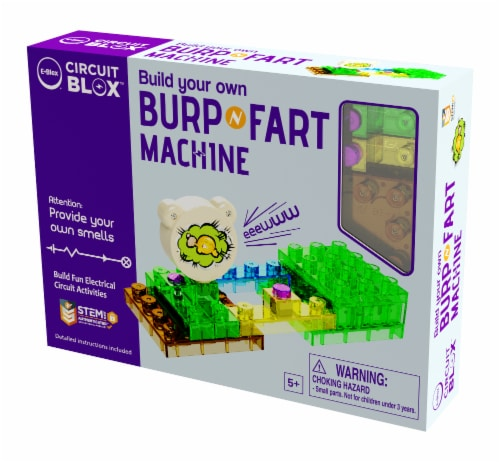 E-Blox Circuit Blox Build Your Own Burp & Fart Machine Perspective: front