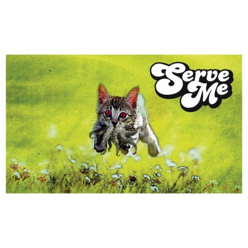 Legion Supplies LGNPLM067 14 x 24 in. Serve Me Game Play Mat Perspective: front