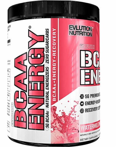 Evlution Nutrition  BCAA Energy®   Watermelon Perspective: front