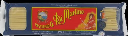 Di Martino Spaghetti Pasta Perspective: front