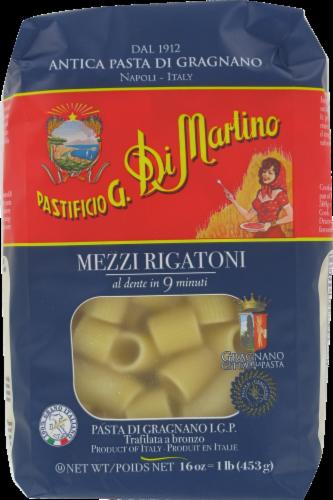 Di Martino Mezzi Rigatoni Pasta Perspective: front