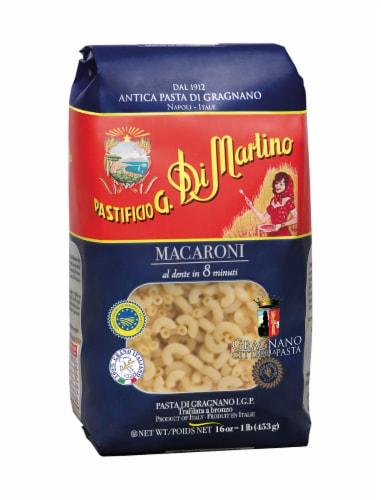 Pastifico G Di Martino Elbow Macaroni Perspective: front