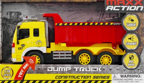 Sunny Days Maxx Action Toy Dump Truck Perspective: front