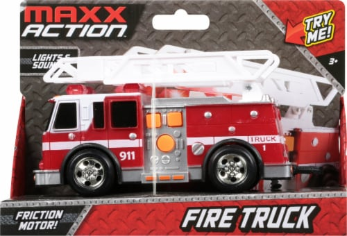 Maxx Action Rescue Fire Truck Perspective: front