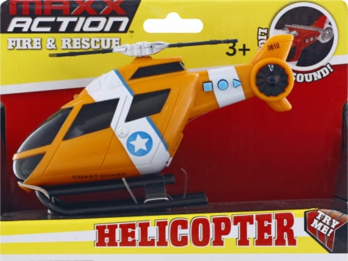 Maxx Action Rescue Helicopter Perspective: front