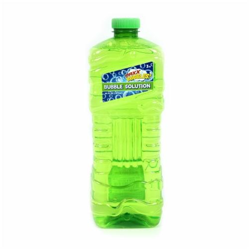 Maxx Bubbles Refill Bubble Bottle - Green Perspective: front