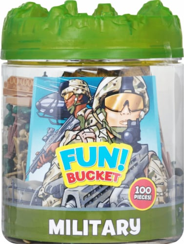 Sunny Days Maxx Action Commando Series Battle Group Bucket Perspective: front
